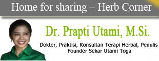 Dr Prapti Utami - Sehat alami
